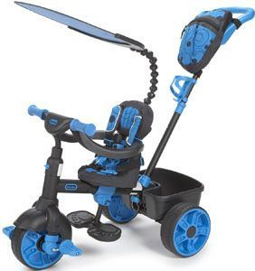 mejor triciclo bebe Little Tikes azul