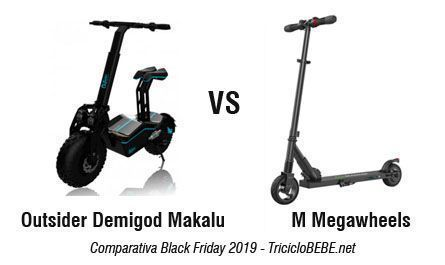 Outsider vs Megawheels - BLACK FRIDAY Amazon 2019