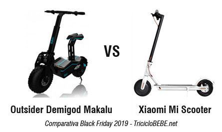Patinete Electrico Black Friday 2019 - Xiaomi Mi Scooter